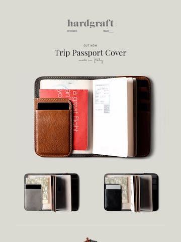 The New Trip Passport Cover Thumbnail Preview