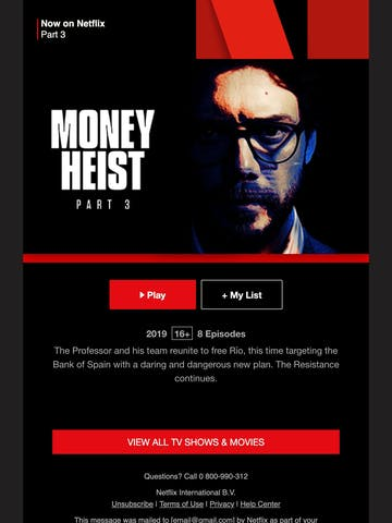 Money Heist Part 3 is now on Netflix Thumbnail Preview