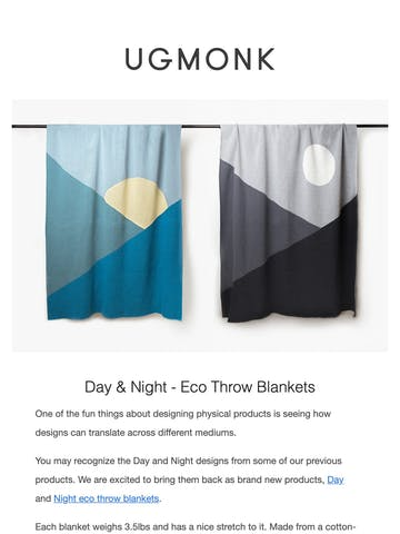 New Day & Night Blankets Thumbnail Preview