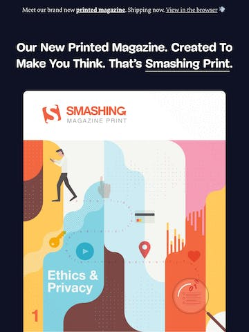 Created To Make You Think: Meet Our New Printed Magazine. Thumbnail Preview