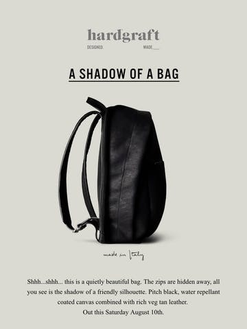 New Backpack – This Saturday Thumbnail Preview