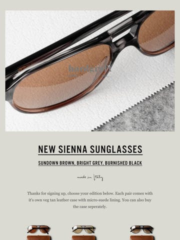 Late Summer Sunglasses Thumbnail Preview