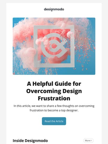 Issue #37: Overcoming Design Frustration, Slides 5 Coming Soon, Startup Releases Ecommerce Designs, Postcards Releases Image Hosting, Email Preview. Thumbnail Preview