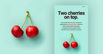 Two Cherries Free HTML Template