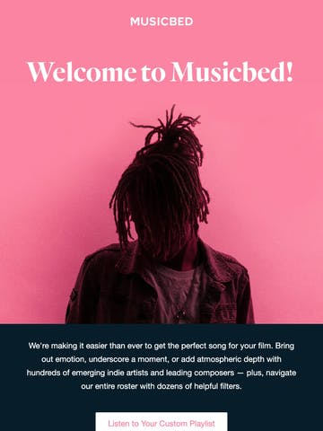 Welcome to Musicbed! Thumbnail Preview