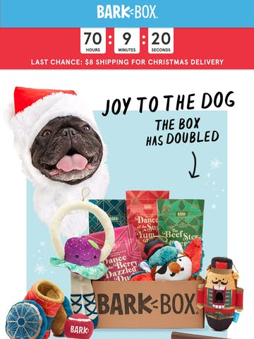 Last chance to get your dog's gift by Xmas Thumbnail Preview