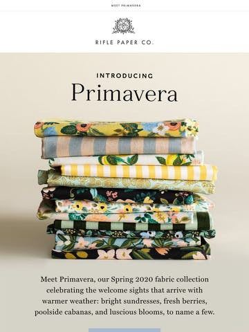 New Spring Fabric is Here! Thumbnail Preview