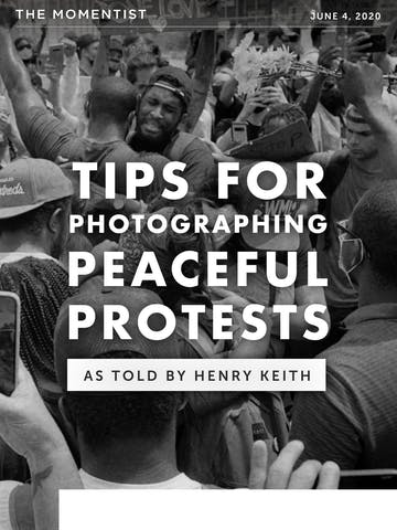 Tips for Photographing Peaceful Protests Thumbnail Preview