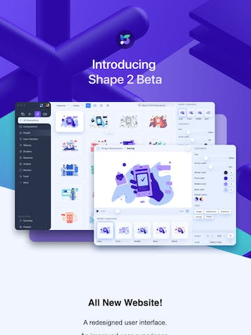 Shape 2 beta is here Thumbnail Preview