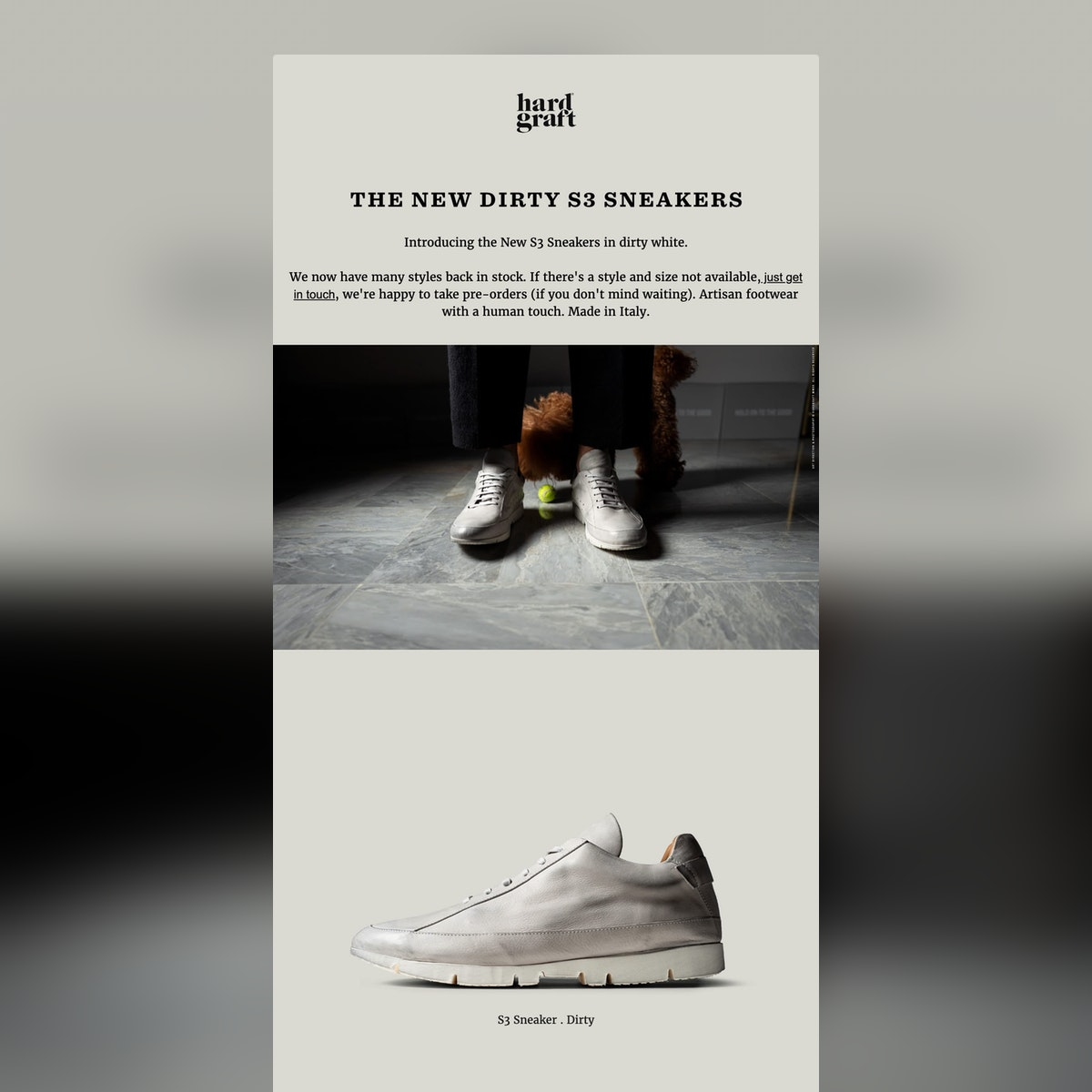 The New Dirty S3 Sneakers