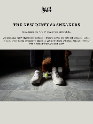 The New Dirty S3 Sneakers Thumbnail Preview